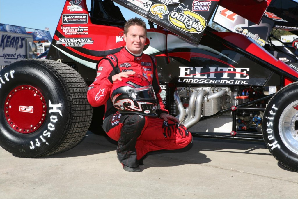 Jason Meyers Sprint Car