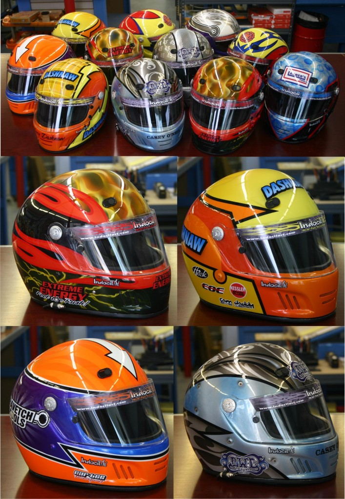 Indocil Helmets for the FD4 movie