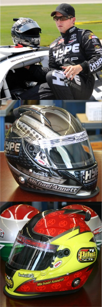 Indocil Art Helmet of Michael Annett