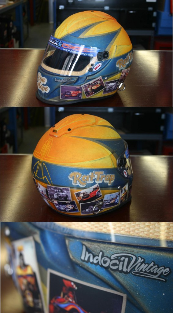 Ron Hopes Rat Trap Fuel Altered Helmet