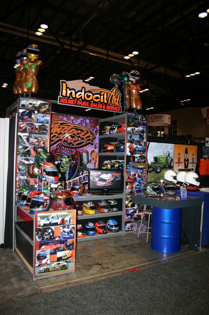 Indocil PRI trade show booth from 2008